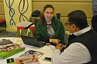 LIA Munish Sekhri with Ms. Anna Soboleva (International Recruitment Officer at Lincoln University).