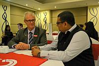 LIA Munish Sekhri with Mr. Mike Hadley (Manager, Avonmore Tertiary Academy).