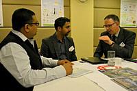 LIA Munish Sekhri with Mr. Sushrutha Metikurke (Manager, Christchurch Polytechnic Institute of Technology)